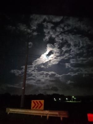 秋の月明かり🌙🌠_c0224694_06174477.jpg