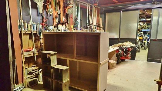 兼業農家の木工工作、今度は飲料保管庫!_c0336902_20154380.jpg