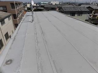 屋上・2Fルーフバルコニー防水改修工事(本庄市)_c0183605_17385387.jpg