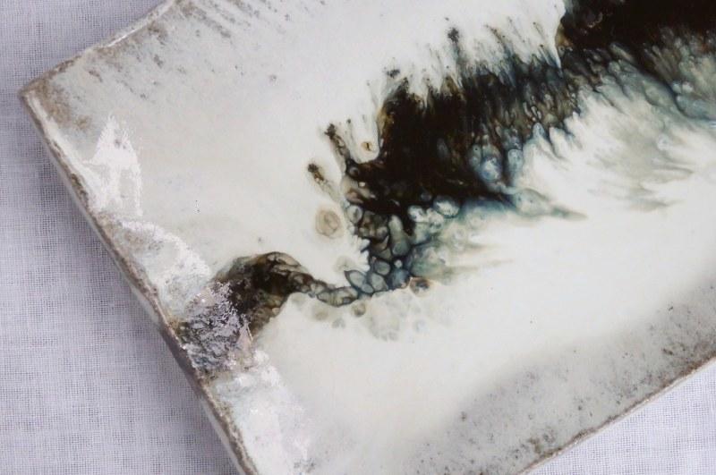 塩鶴るりこさんの陶展 - 食の記憶 - 1_f0351305_21203343.jpg