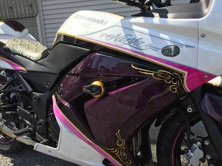 kawasaki ninja 250R 全塗装_a0131521_18312440.jpg