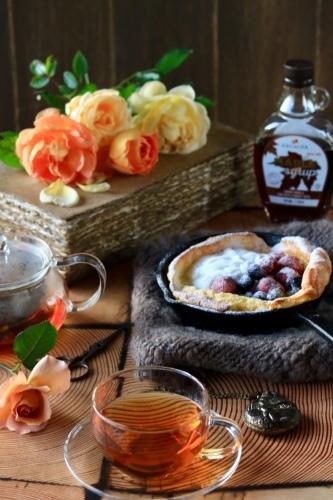 ダッチベィビーパンケーキの朝ごはん_c0366722_16573687.jpeg