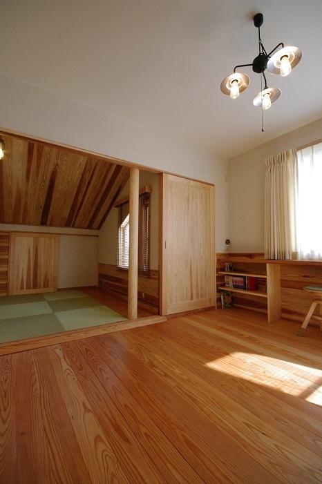 伊那市で設計事務所の家づくり  『ゴロンとできる畳のある部屋のある家』 _b0146238_05302800.jpg
