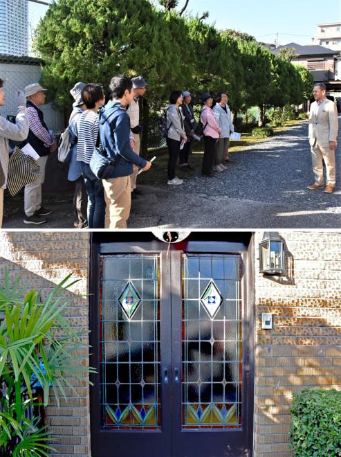 アートさんぽ[川口モダン建築探訪]を開催しました。_c0222139_13494732.jpg