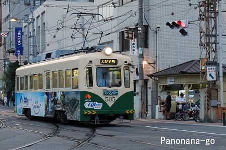 路面電車のはしる街 ~大社の街に暮れ時が来る~_c0185241_01105008.jpg