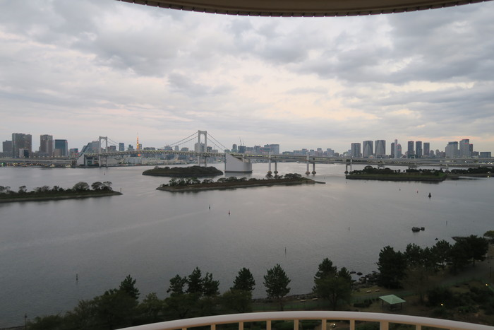 ヒルトン東京お台場 + アフタヌーンティー、アップグレード、朝食、庵スパ_f0036857_11342232.jpg