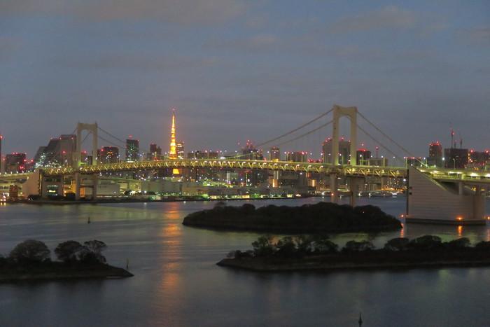 ヒルトン東京お台場 + アフタヌーンティー、アップグレード、朝食、庵スパ_f0036857_113471.jpg