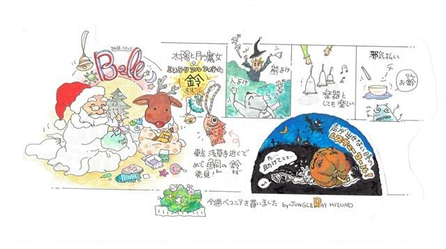 太陽と月の魔女の秘密 縁起物とお守り 鈴byJUNGLE RAY MIZUNO_f0326160_11431093.jpg