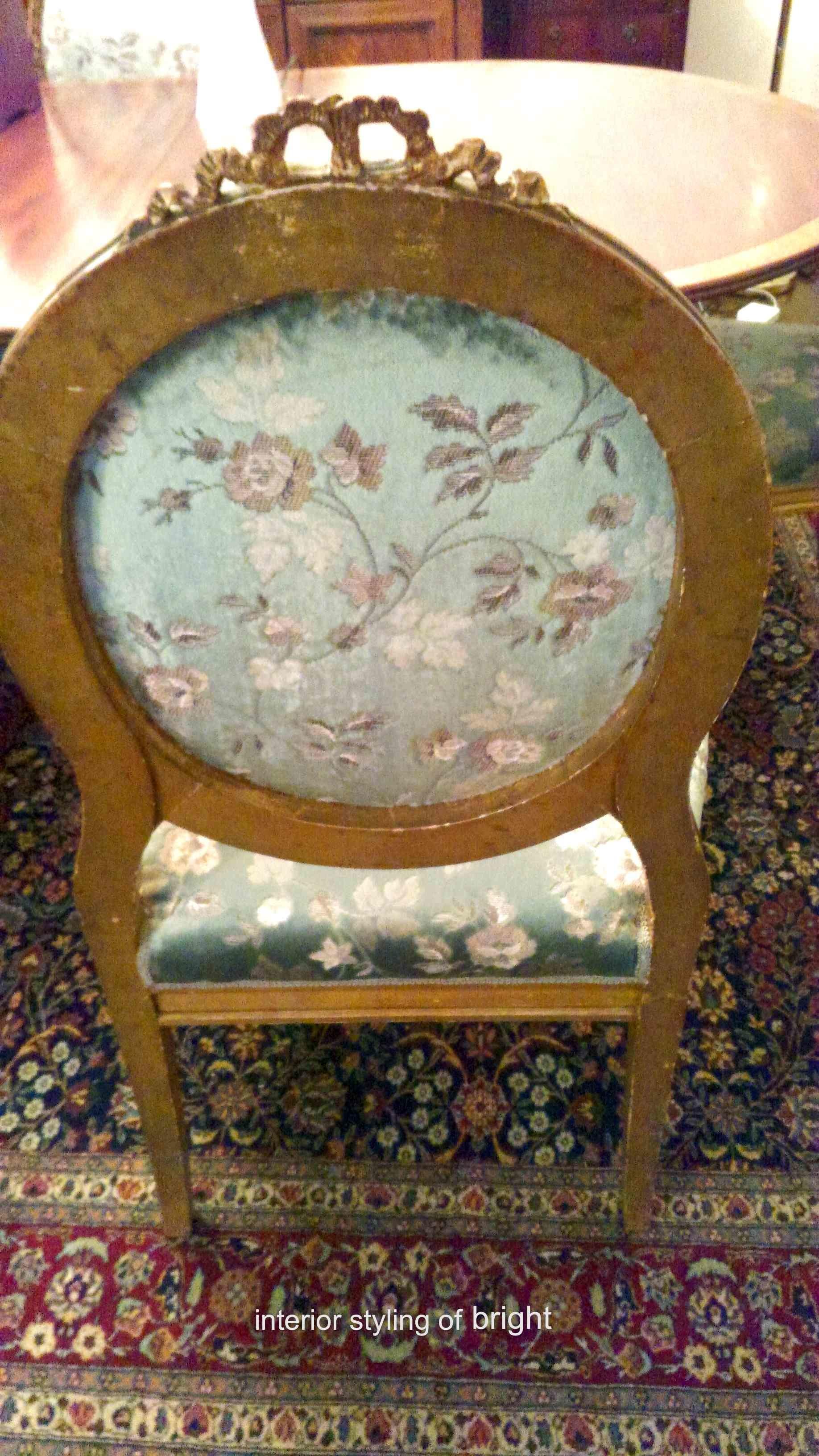 椅子 張替・修理 その2 サンゲツ『UP』 ウィリアムモリス正規販売店のブライト_c0157866_19034398.jpg