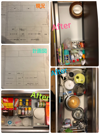 システムキッチンのオーガナイズ_f0028675_21070485.jpg