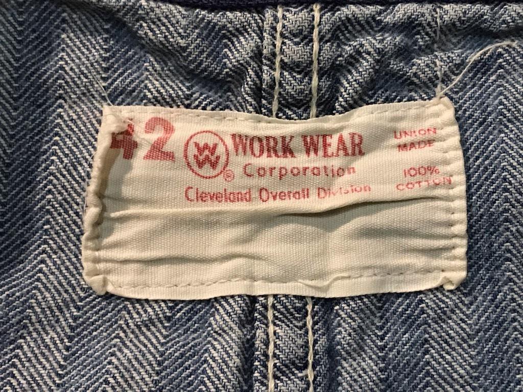 マグネッツ神戸店10/31(水)Vintage入荷! #5 Vintage Shop Coat,Union Suit !!!_c0078587_22345172.jpg