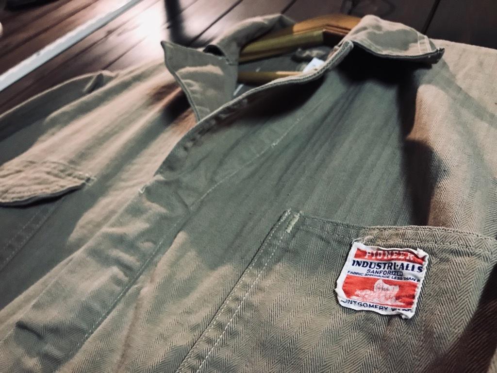 マグネッツ神戸店10/31(水)Vintage入荷! #5 Vintage Shop Coat,Union Suit !!!_c0078587_22383509.jpg
