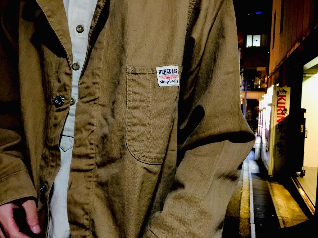 マグネッツ神戸店10/31(水)Vintage入荷! #5 Vintage Shop Coat,Union Suit !!!_c0078587_23324454.jpg
