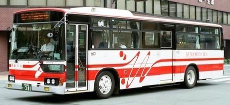 熊本バス 三菱U-MP218M +呉羽_e0030537_23284253.jpg