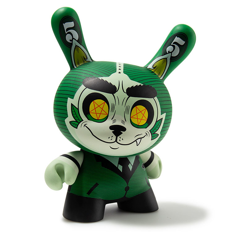 "Cash Wolf 5"" Dunny by Josh Divine_e0118156_11151724.jpg"