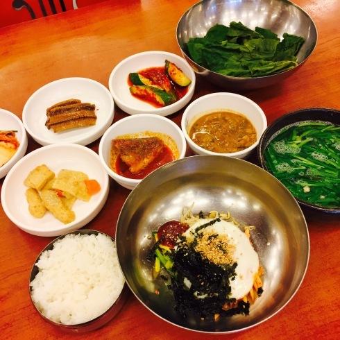 ソウル旅行 12 しじみスープ定食の朝食を♪_f0054260_04512766.jpg