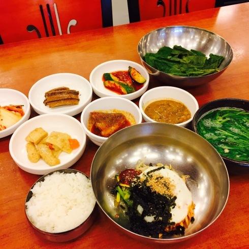ソウル旅行 12 しじみスープ定食の朝食を♪_f0054260_04542305.jpg