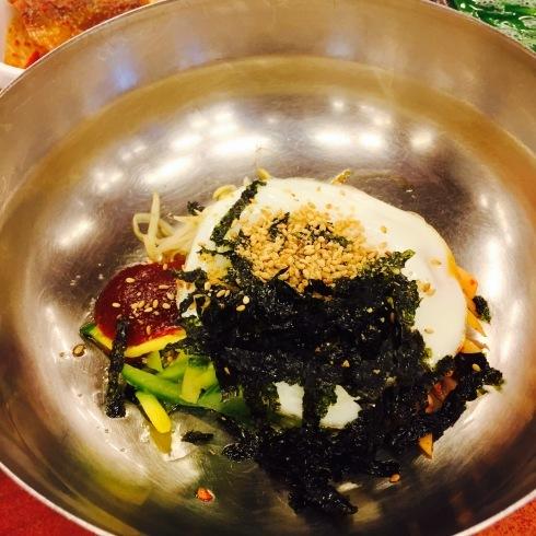 ソウル旅行 12 しじみスープ定食の朝食を♪_f0054260_04553774.jpg