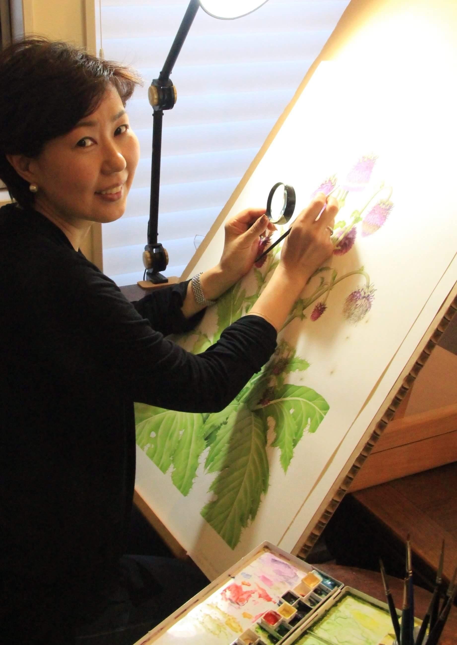 第4回 妖精たちのティーパーティ 「植物を描く」_a0252678_08565061.jpg