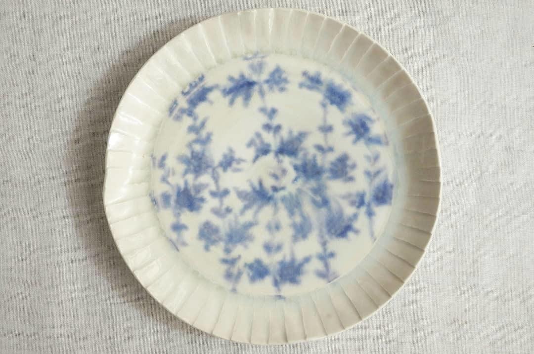 塩鶴るりこさんの陶展 - 食の記憶 - 2_f0351305_00003349.jpg