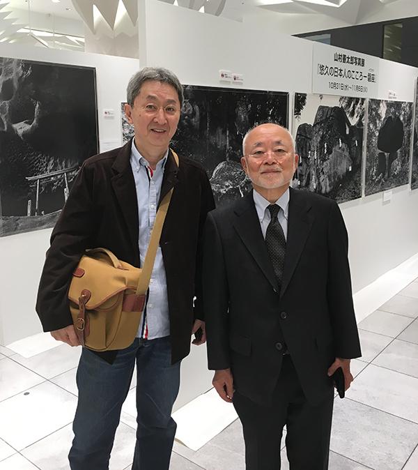 山村善太郎写真展「悠久の日本人のこころ - 磐座(イワクラ)」に行ってきました。_b0194208_22454455.jpg