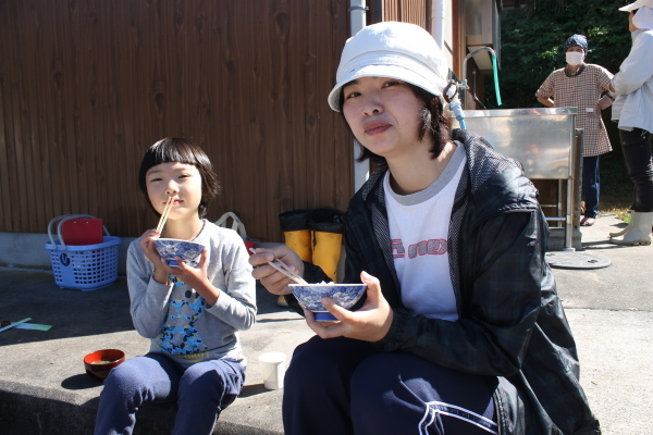 H30田んぼアート稲作体験~稲刈り編~_b0281312_10495482.jpg