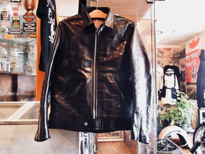 AD-01 HORSEHIDE CENTER-ZIP JACKET_d0179518_11594362.jpeg