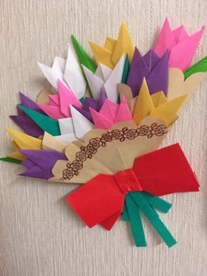 折り紙って子どもの頃ぶり(笑)_b0392383_23282160.jpg