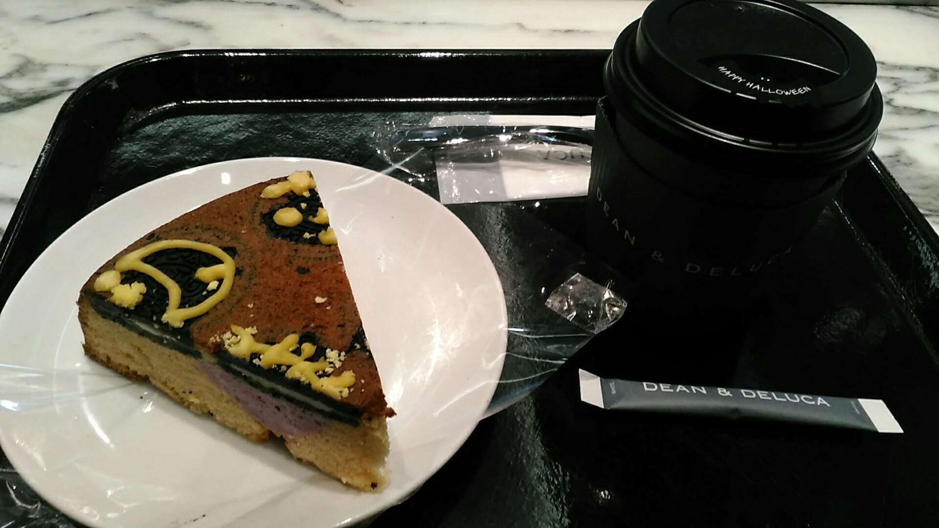 DEAN & DELUCA CAFE(ディーン&デルーカ カフェ NEWoMan) 『キャラメルジャック』_a0326295_22305147.jpg