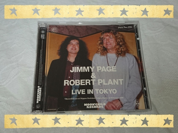 JIMMY PAGE & ROBERT PLANT / LIVE IN TOKYO_b0042308_10115037.jpg