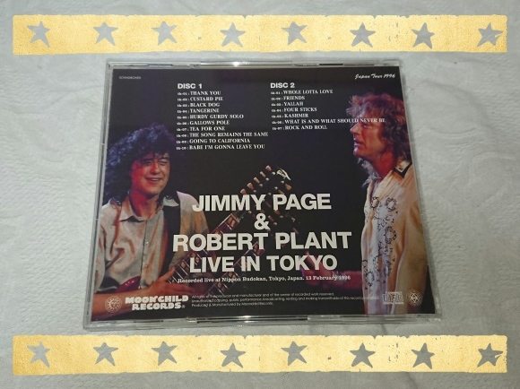 JIMMY PAGE & ROBERT PLANT / LIVE IN TOKYO_b0042308_10115158.jpg