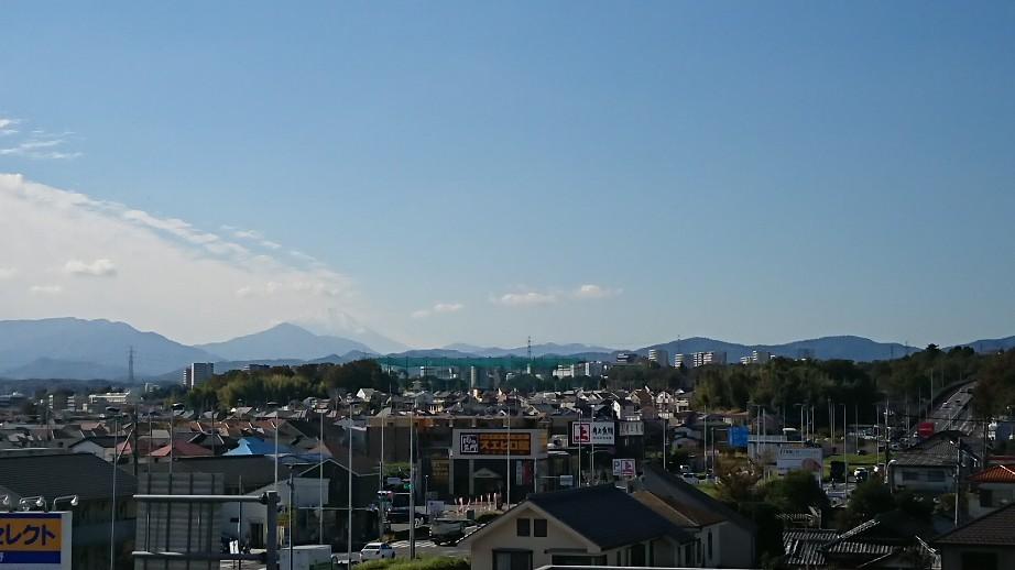 11/1  今日の富士山_b0042308_11500103.jpg