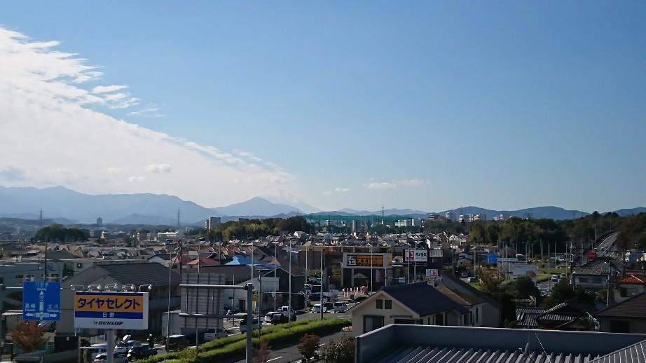 11/1  今日の富士山_b0042308_11500181.jpg