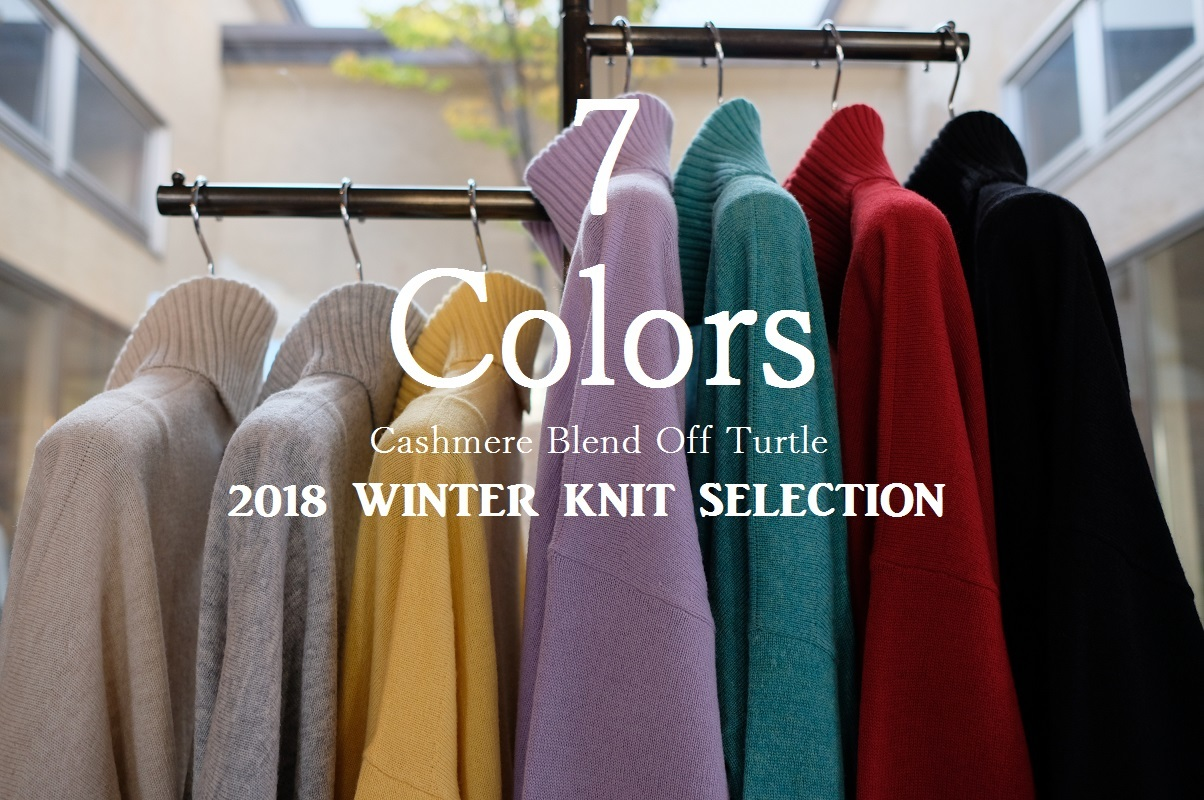 """New Arrival!! 2018 Winter Knit Selection~7 Colors...11/1thu\""_d0153941_16284414.jpg"