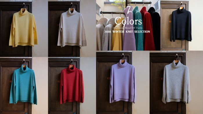 """New Arrival!! 2018 Winter Knit Selection~7 Colors...11/1thu\""_d0153941_16491437.jpg"