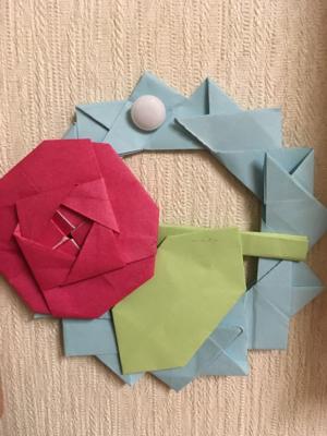 折り紙にハマる_b0392383_08593726.jpg