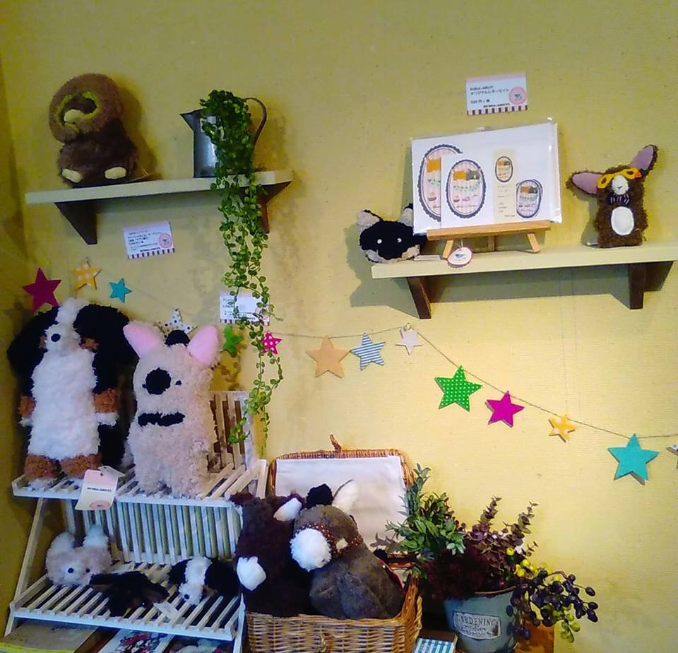 東急ハンズ梅田店『鳥鳥とねこの雑貨展』終了しました!関西つうしんの展示について_d0322493_00294335.jpg
