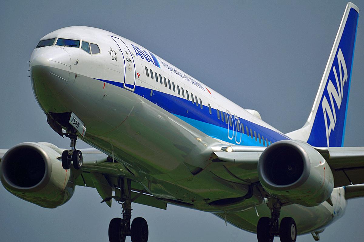 ANA Boeing737。_b0044115_08504406.jpg