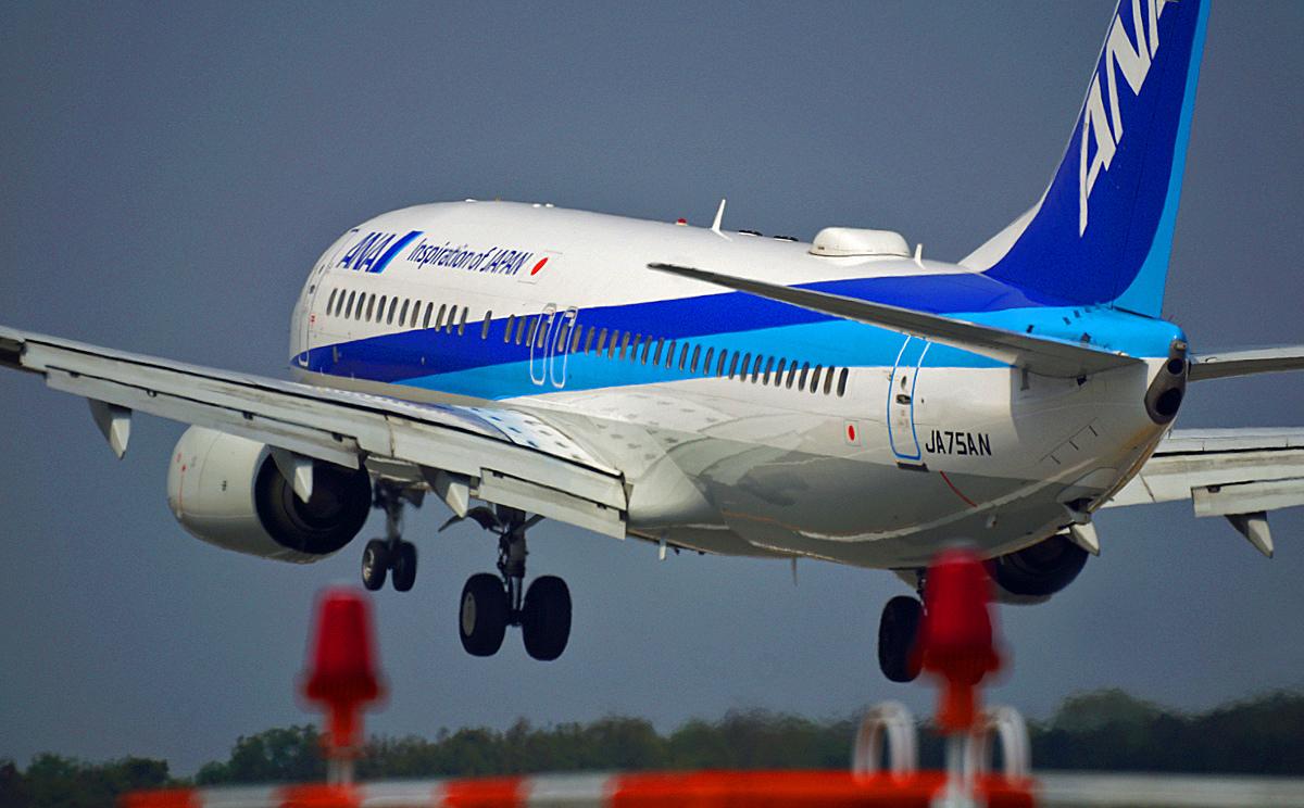 ANA Boeing737。_b0044115_08510651.jpg