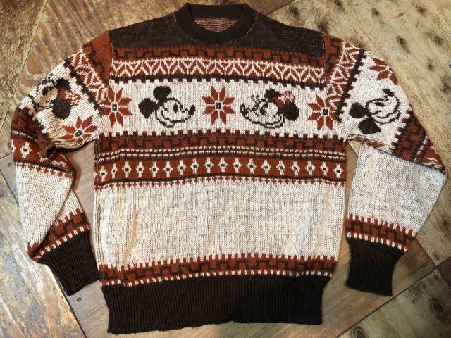 11月3日(土)入荷!70s ミッキーマウス ジャガードセーター!_c0144020_14514410.jpg