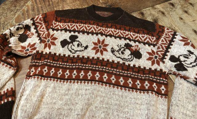 11月3日(土)入荷!70s ミッキーマウス ジャガードセーター!_c0144020_14514643.jpg