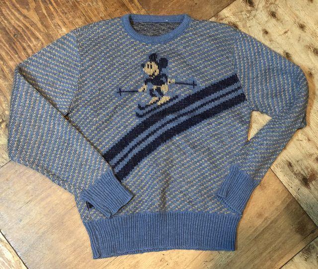 11月3日(土)入荷!70s ミッキーマウス ジャガードセーター!_c0144020_14514841.jpg