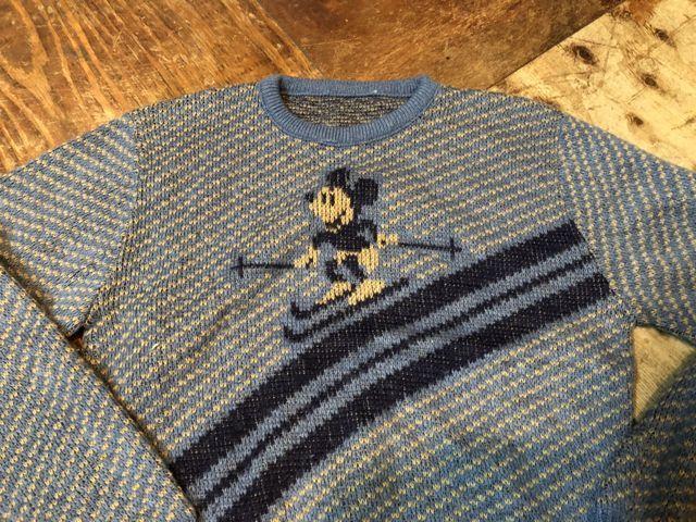 11月3日(土)入荷!70s ミッキーマウス ジャガードセーター!_c0144020_14514938.jpg
