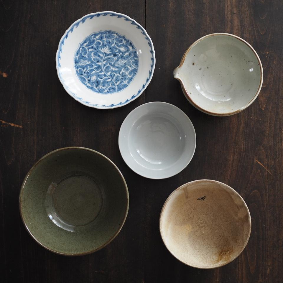 再び小さな器とごはん茶碗で_b0206421_12053558.jpg