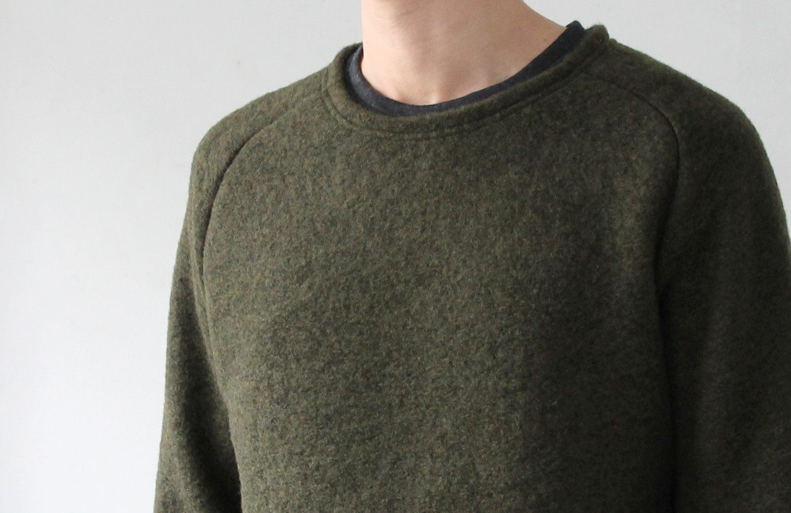 Middle Gauge Wool Airy Knit_c0379477_18542485.jpg