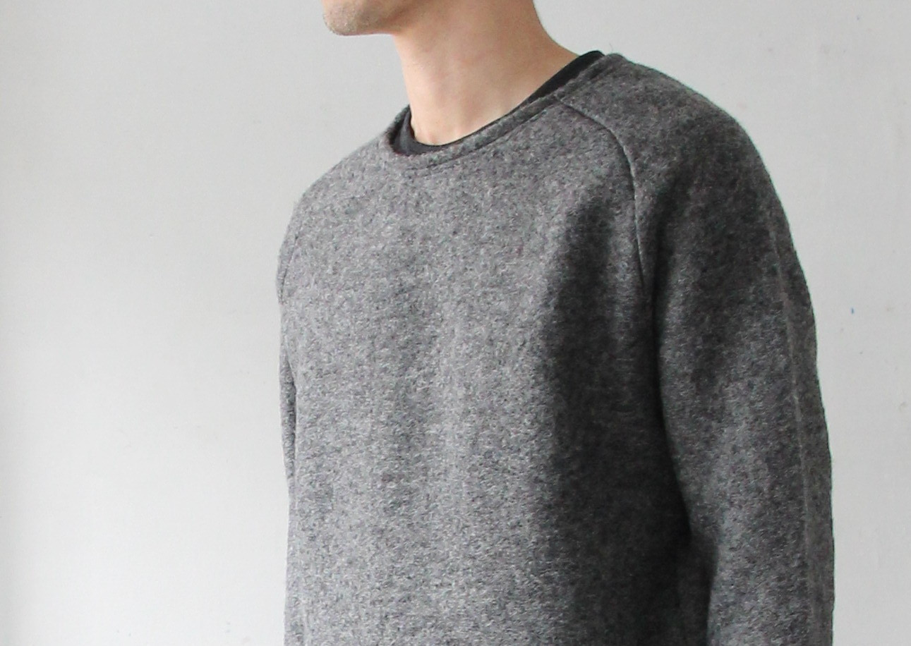 Middle Gauge Wool Airy Knit_c0379477_18552901.jpg