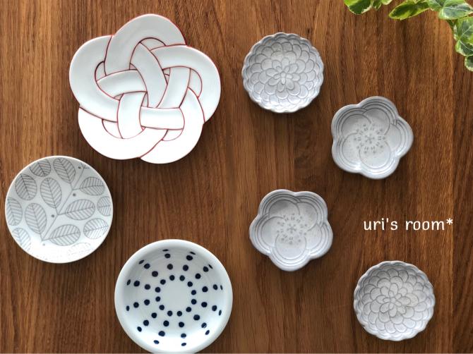 セリアで話題の可愛い豆皿!それから…盛り上がっています鷹vs鯉!_a0341288_19412191.jpg