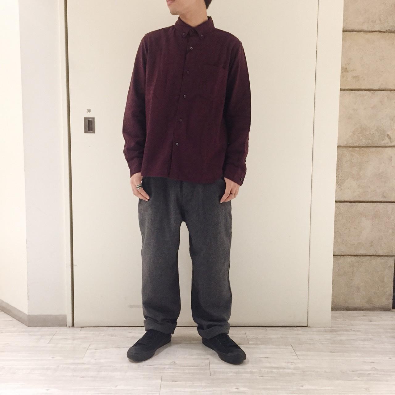 秋色シャツとあったかパンツ_e0272788_11291098.jpeg