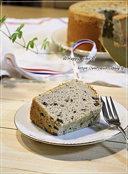 一口とんかつ弁当と小豆シフォン♪_f0348032_18182839.jpg