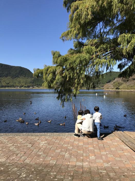 いむた池でサイクリング_f0091634_15225857.jpg